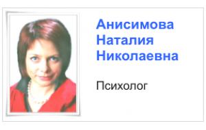 Анисимова Н.Н.
